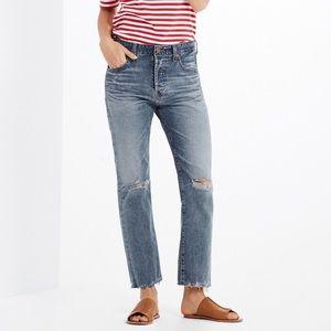 AG sloan crop jeans